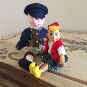 Pinocchio & Geppetto Madame Alexander